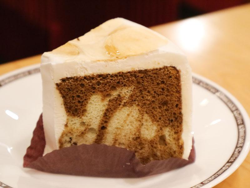 コメダのケーキ「ティーまーぶる」